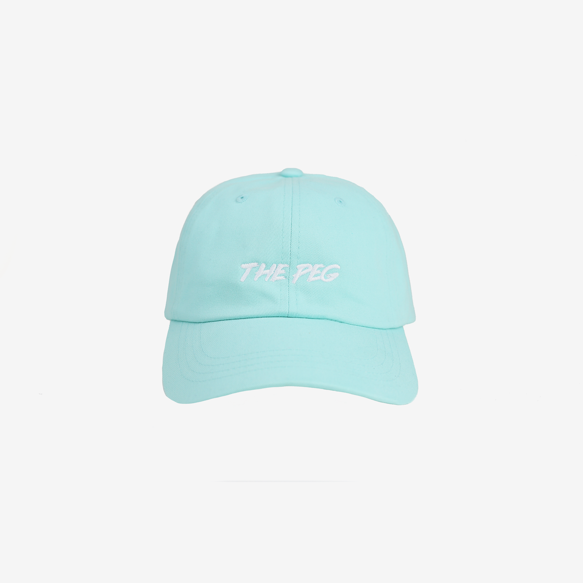 Paintbrush Dad Cap (Mint/White)