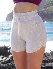 Aloha Jogger Shorts - Heather Triblend | SHIPS OUT 7/2/20