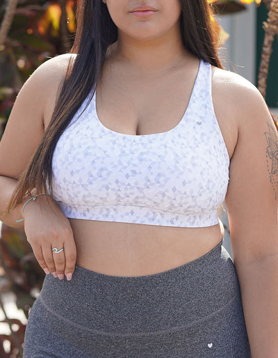 Leilani Sports Bra - Diamond