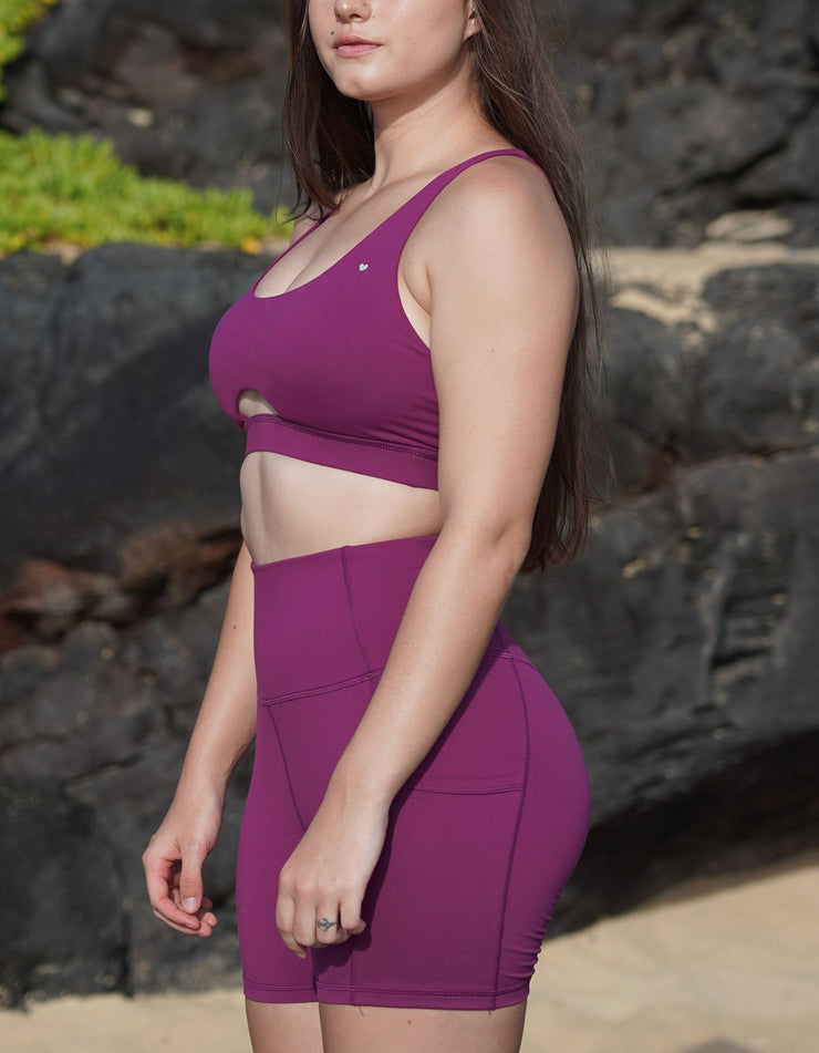 Leilani Sports Bra - Orchid