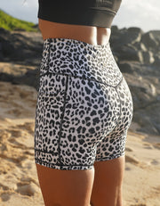 Love Fitness Apparel Leopard Pocket Shorts Leopard shorts