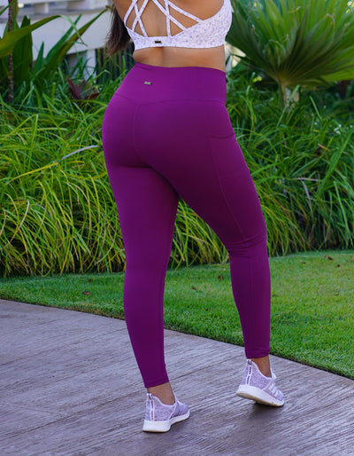 Luxe Pocket Leggings - Orchid