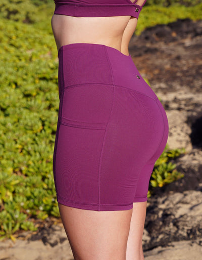Luxe Pocket Shorts - Orchid