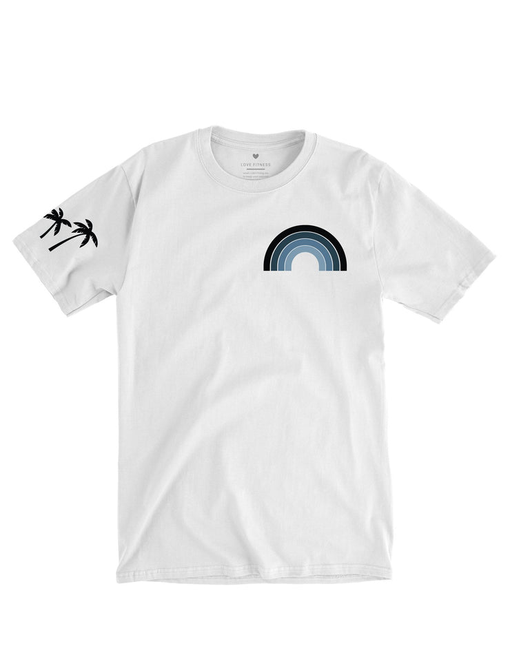 Pacific Rainbow  - White Tee