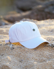 Pineapple Dad Hat - White