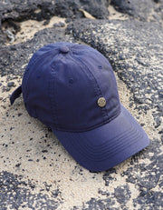 Pineapple Dad Hat - Navy Blue