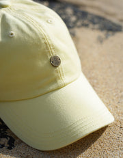 Pineapple Dad Hat - Light Yellow