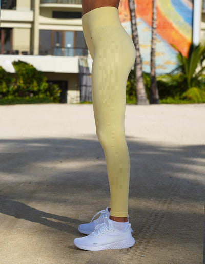 Urban Seamless Leggings - Sunshine