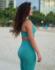 Urban Seamless Sports Bra - Ocean Teal