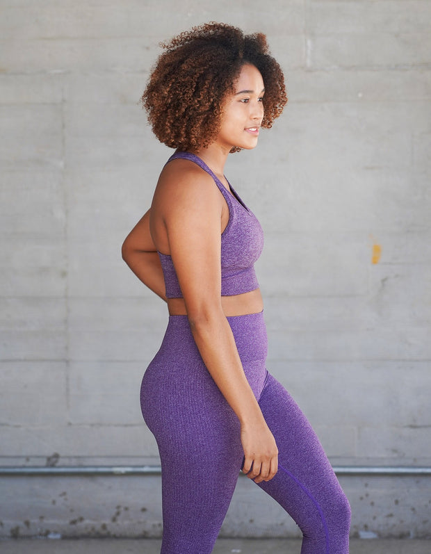 Urban Seamless Sports Bra - Royal Purple