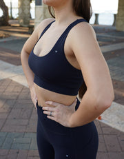 Essential Sports Bra - Midnight Navy