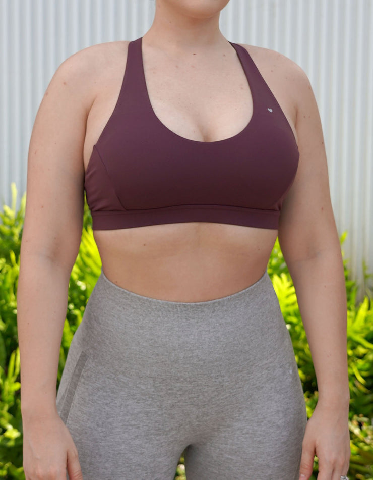 Makani Sports Bra - Raspberry