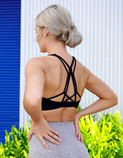 Makani Sports Bra - Black