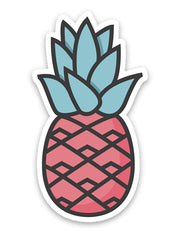Pink Pineapple Sticker