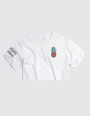 Limited Edition Pink Pineapple Logo - Cropped Tee