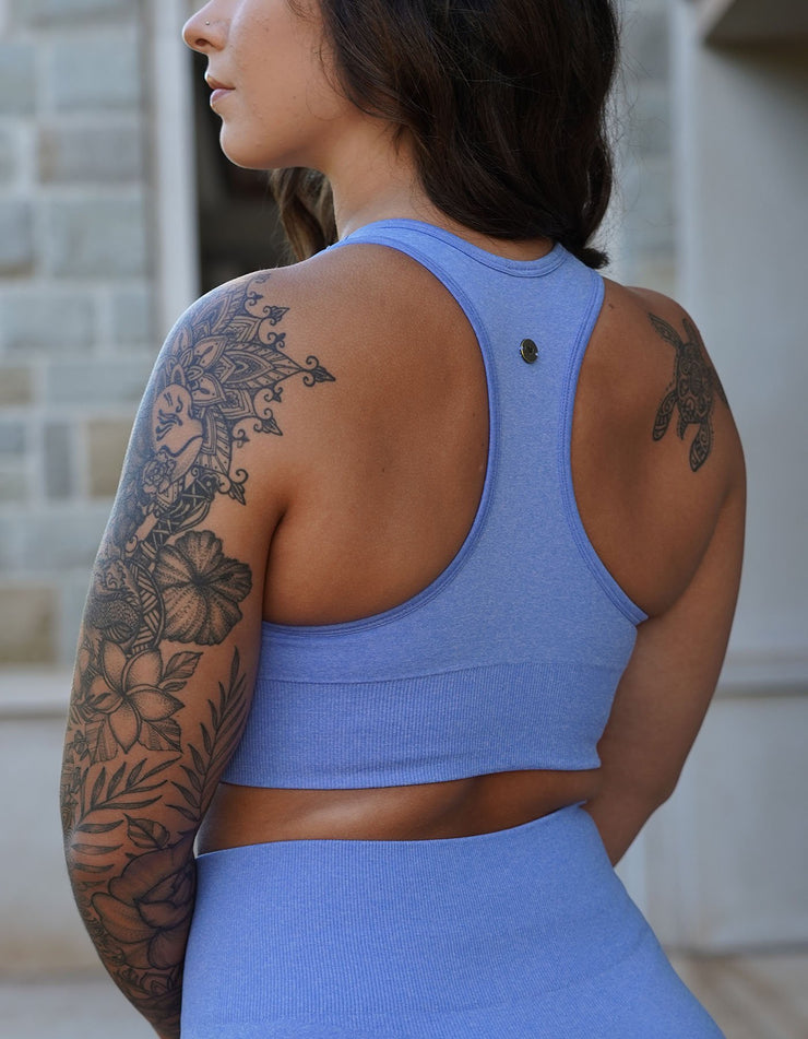Resilient Seamless Sports Bra - Arctic