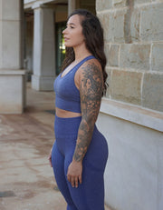 Resilient Seamless Leggings - Azure