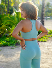 Resilient Seamless Sports Bra - Sage