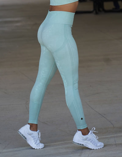 Resilient Seamless Leggings - Seafoam