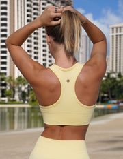Urban Seamless Sports Bra - Sunshine