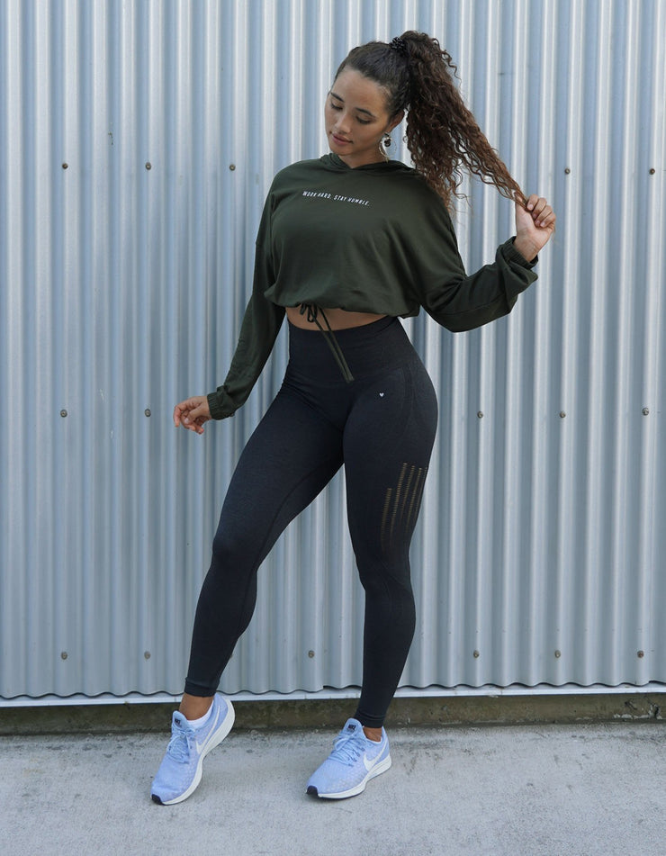 Allure Seamless Leggings - Asphalt