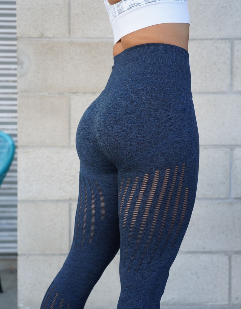 Allure Seamless Leggings - Electric Blue