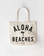 Aloha Beaches Large Tote Bag