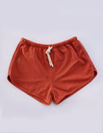 Aloha Retro Running Shorts - Burnt Orange