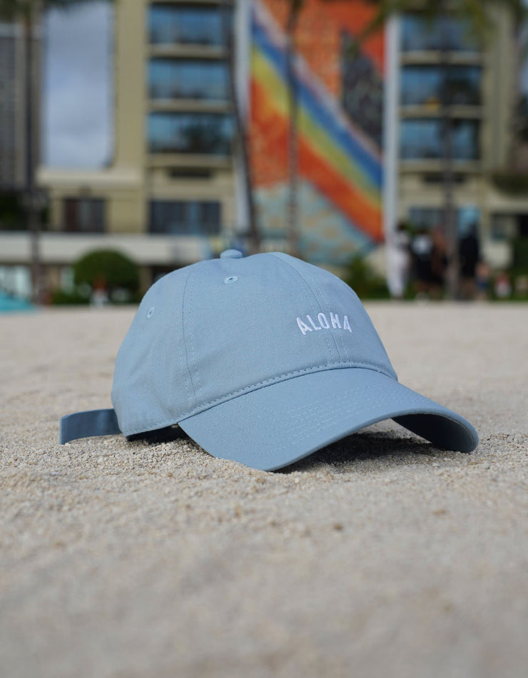 Aloha Dad Hat - Light Blue