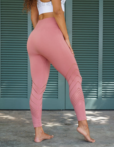 Edge Seamless Leggings - Dusty Rose