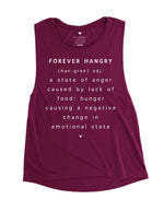 love fitness apparel forever hangry muscle tank work out tank