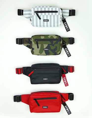 Hawaii Fanny Pack - Black