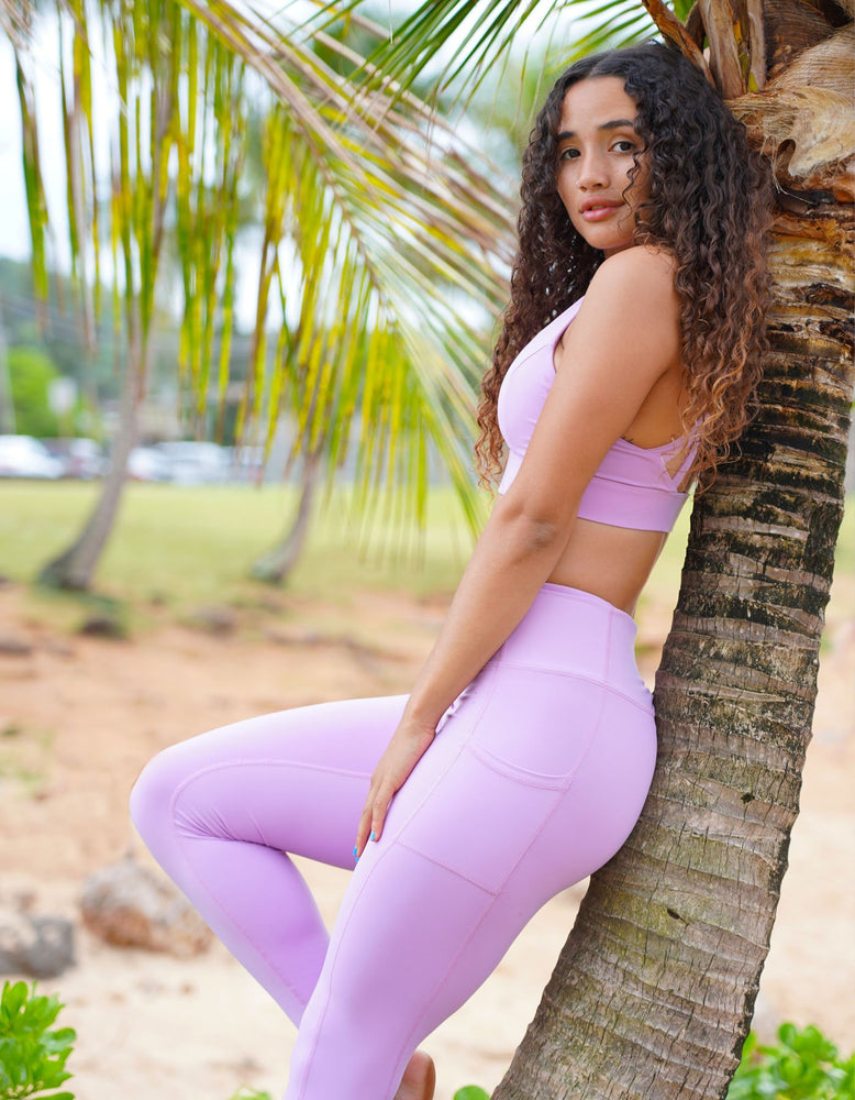 Dreamy Sports Bra - Lilac