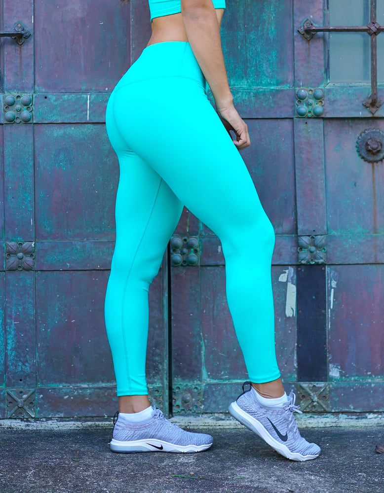 Luxe Leggings - Pacific Teal