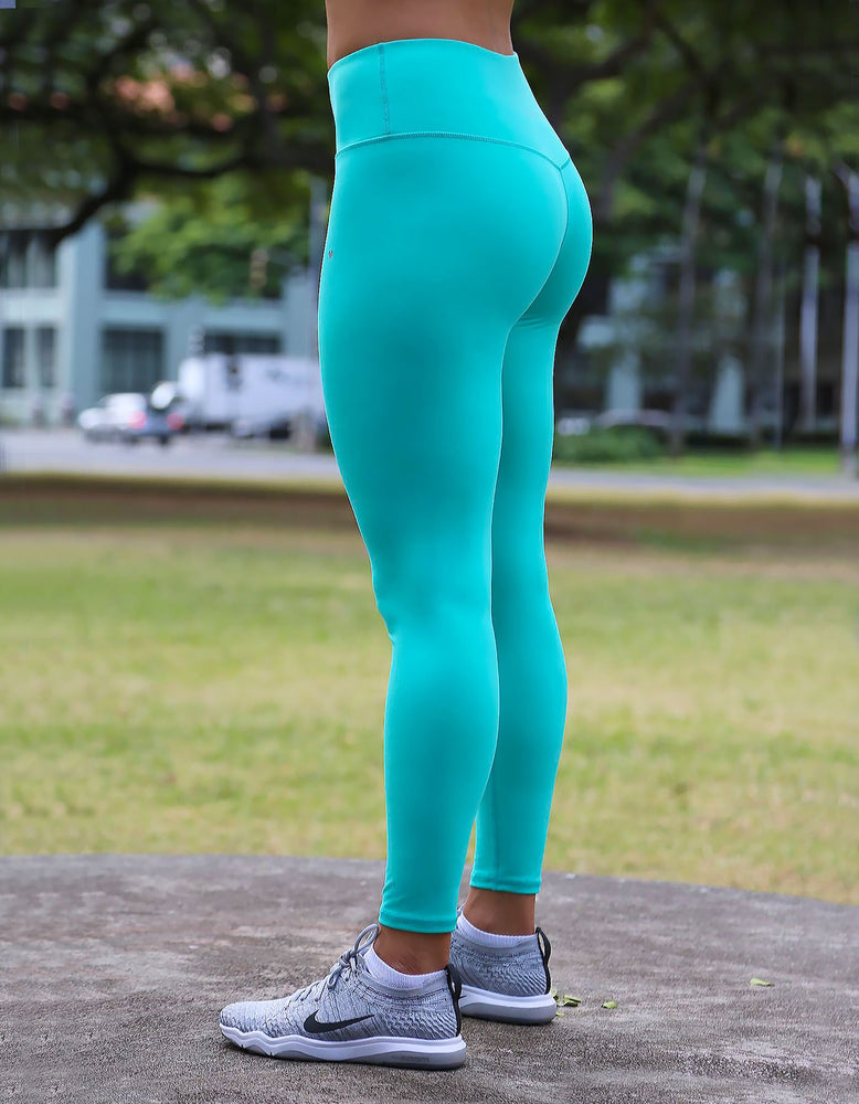 love fitness leggings pacific teal tights