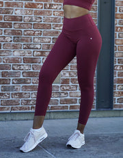 love fitness luxe leggings maroon tights