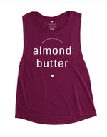 Love Fitness Apparel Motivation for running Almond butter maroon muscle tank hawaii