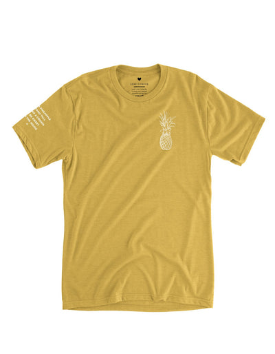 Pineapple Logo - Honey Tee