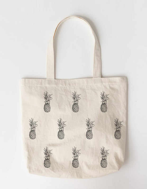 Pineapple Large Tote Bag