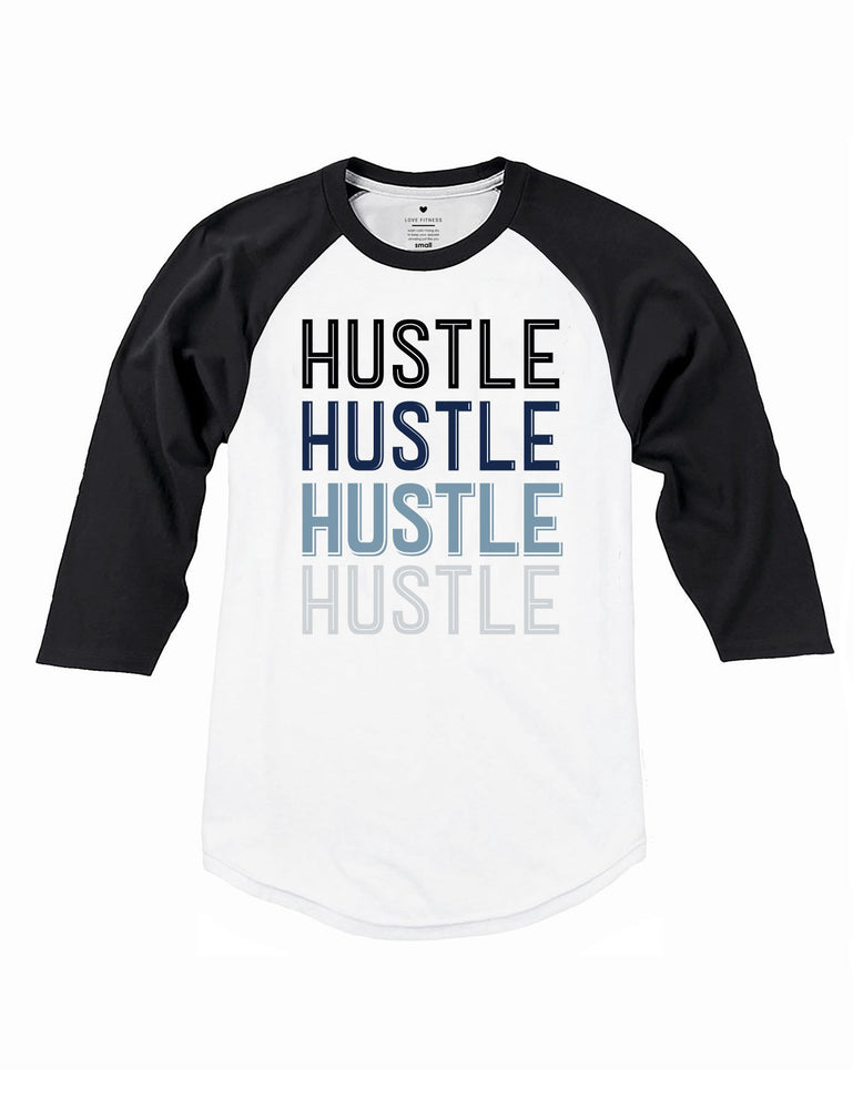 Retro Hustle Raglan