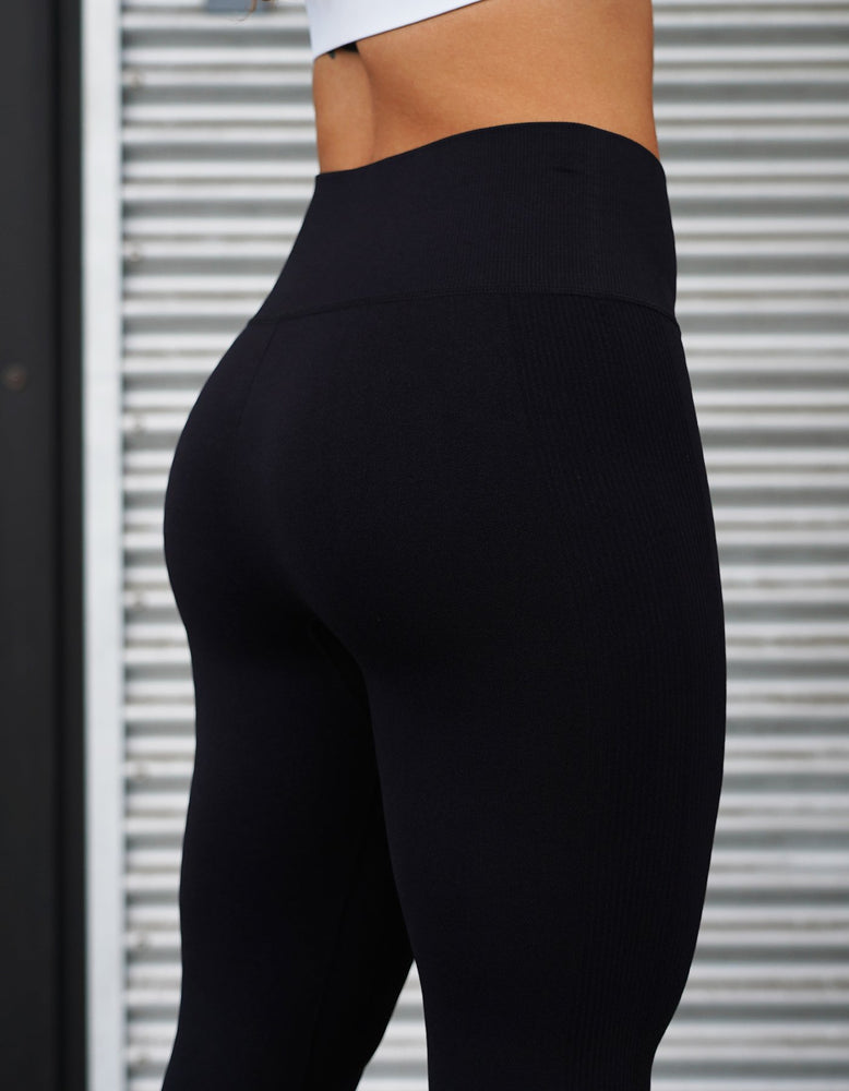 Love Fitness Midnight black seamless leggings urban collection