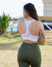 Luxe Leggings - Olive Green