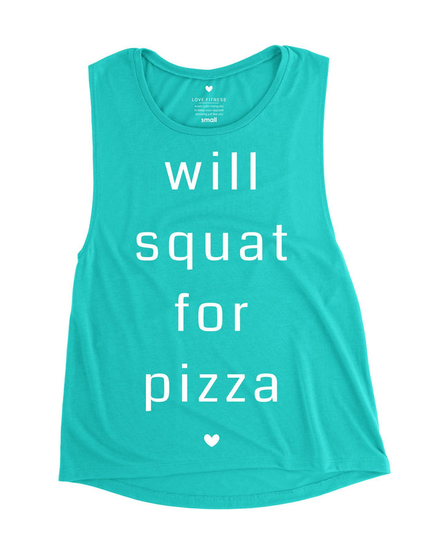 Will squat for pizza