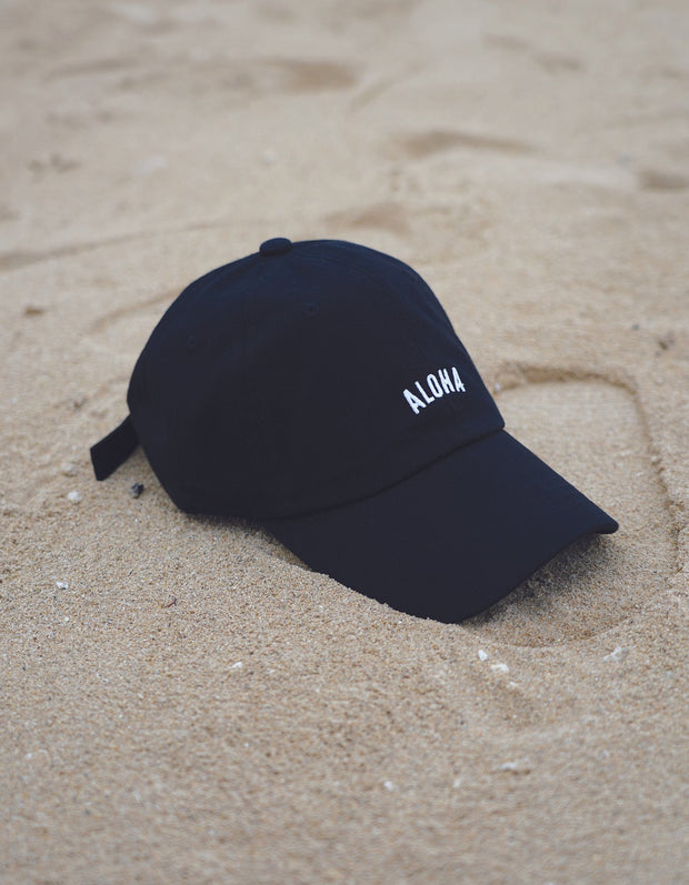 Aloha Dad Hat - Black