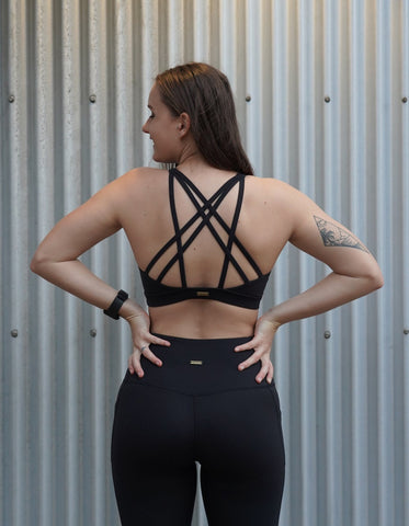 Leilani Sports Bra - Black