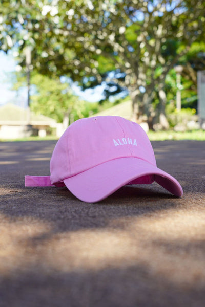 Aloha Dad Hat - Pink | LIMITED EDITION