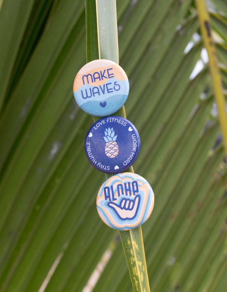Make Waves Button Set