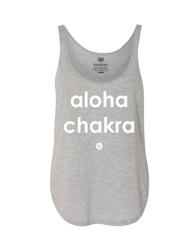 Koalani - Aloha Chakra Tank Heather Grey