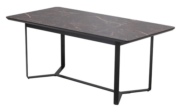The Veronica Dining Table - Brown