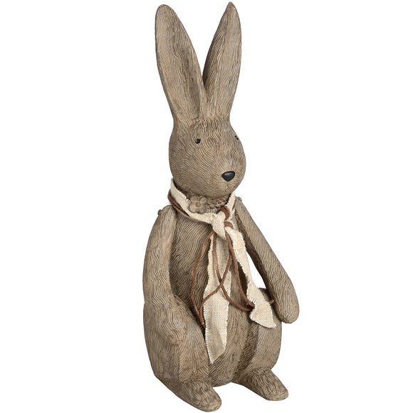 Christine's Winter Bunny Rabbit Ornament - Large